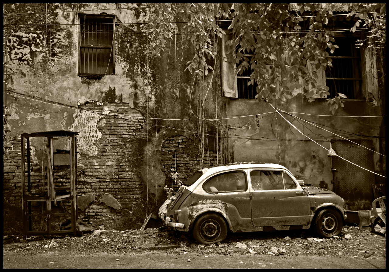 Car - The Real Fiat 500